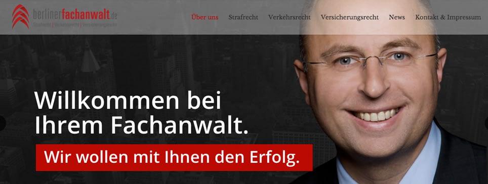 Berliner Fachanwalt Referenz