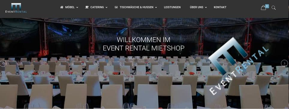 Referenz Eventrental