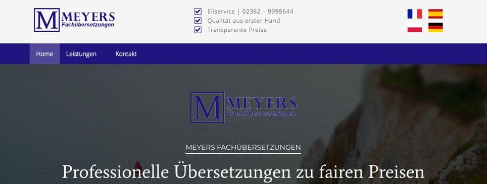 Meyers Fachübersetzungen